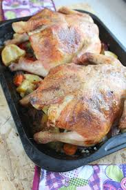 best cornish hen recipe with mushrooms ham herbs