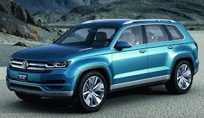 volkswagen 7 passenger suv is this strange looking suv the full size volkswagen crossover in