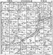 Plat Maps 1958 Stockholm Township Crawford County Iowa Plat Maps