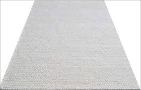 hand woven felted wool braided rug link1003 ivory white u2013 rugs