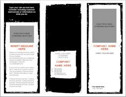 Microsoft Resume Wizard Word Brochure Template Tristarhomecareinc