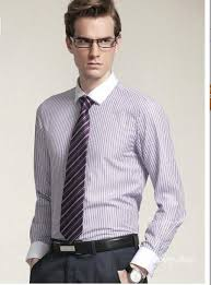 small men u0027s shirt tie tailored long sleeved casual man suit light
