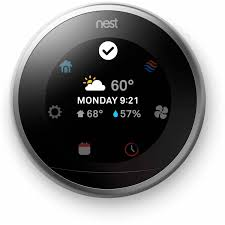 black friday wifi thermostat nest learning thermostat 3rd generation walmart com