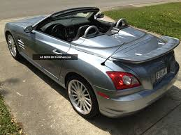 chrysler crossfire srt 6 convertible for sale 2005 crossfire srt6