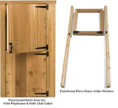 cedarshed play house door and window set ph66kit on sale now