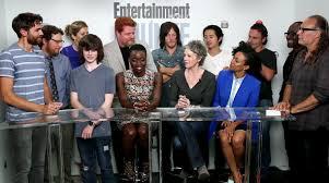 comic con 2015 the walking dead cast on season 6 and crazy rick
