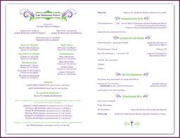 Examples Of Wedding Programs Templates Examples Of Wedding Programs Cvsampleform Com