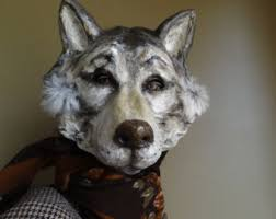 Wolf Costume Wolf Costume Etsy