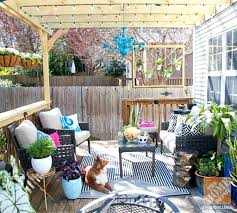 Pool Patio Decorating Ideas by Decorations Small Deck Decorating Ideas On A Budget Small Pool