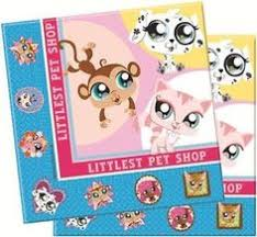 littlest pet shop lps party custom birthday ticket by aainvites