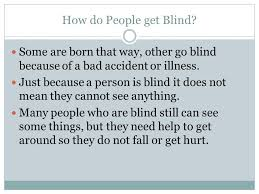 How Do People Get Blind Understanding Guide Dogs And The Jobs They Do Meeting A Guide Dog
