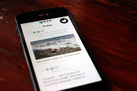 create manage recipes with ifttt for iphone cnet