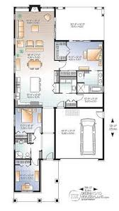 Large Bungalow Floor Plans House Plan W3240 Es Detail From Drummondhouseplans Com