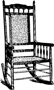 Black Wooden Chair Png 2017 06 Rocking Chair Png