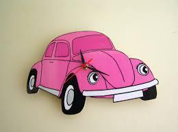 beetle volkswagen pink cartoon vw beetle image pink cartoon volkswagen vw beetle wall