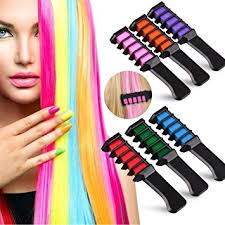 amazon letgoshop temporary mini hair color comb disposable