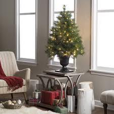 4 ft pre lit tree decor ideas