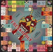 american horror story monopoly horror board