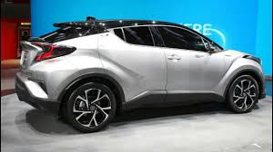 toyota new suv car toyota c hr launch a new stylish suv car in india 2017 price
