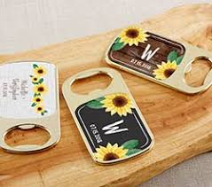 sunflower wedding favors sunflower wedding and bridal shower favors kate aspen
