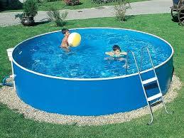 Above Ground Pool Design Ideas Above Ground Pool Decks 40 Modern Garden Swimming Pool Design