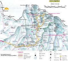 Ri Map Everest Base Camp Trek Map Image Gallery Hcpr