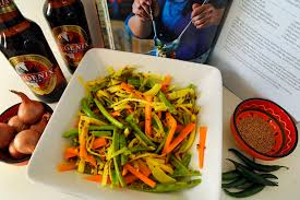 mauritian cuisine 100 easy recipes spicy coleslaw from mauritius travel with