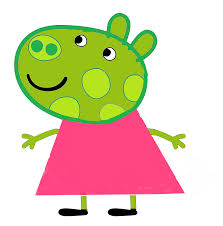 superman peppa pig and other image fanmade carly chameleon png peppa pig wiki fandom