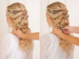 plait hairstyles plait hairstyles for weddings diy fancy french twist bridal updo