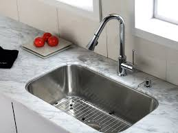 Kitchen Faucets White Sink U0026 Faucet White Granite Kitchen Countertops Grey Metal