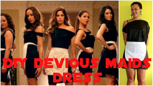 diy halloween costume devious maids how to make a little black