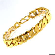 bracelet gold mens images Men bracelets gold jpg