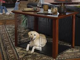 wooden dog crate end table furniture plans u2014 flapjack design