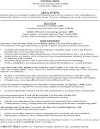 accounting internship resume objective lukex co