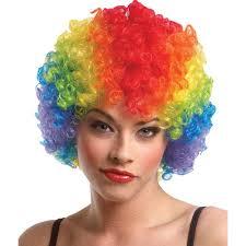 red wigs for halloween all u003e costume accessories u003e clown u003e wigs and noses crazy for