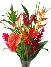 tropical flower arrangements hawaiian flowers tropical bouquets