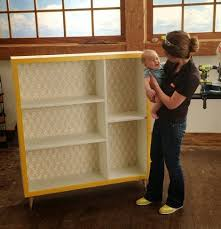 Mid Century Modern Bookcase Ana White Mid Century Modern Bookshelf For Ryobi Nation Diy