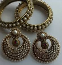 fancy earing earrings bangles designer fancy earings with traditional bangles