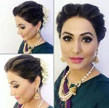 akshara wedding hairstyle 7 hina khan hairstyles that will help you look sassy and pretty