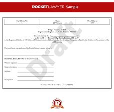 certificate template stock certificate