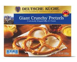 deutsche küche deutsche kuche crunchy pretzels calories nutrition