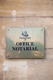 bureau notarial signe notarial de bureau de notaire de bureau de notaire vu de la