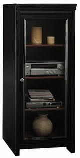 Audio Cabinets With Glass Doors Nexera 201006 Tuxedo Stereo Cabinet Logans New Room Pinterest