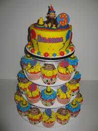 curious george cakes salorra s curious george cake cupcakes