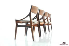 set of 4 dining chairs by h vestervig eriksen room of art