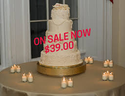gold wedding cake stand sale gold cake stand 16 inch gold floral leaf
