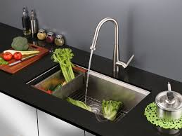 Kitchen Faucet With Spray Ruvati Turino Single Handle Kitchen Faucet With Pull Out Spray