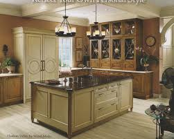 backsplash kitchens with different color cabinets ideas for
