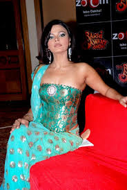 strapless blouse rakhi sawant strapless corset blouse blue saree and turquoise blue