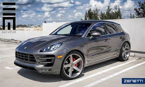 porsche macan 2016 interior zenetti wheels 2016 porsche macan s with brushed silver zenetti